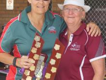 Veterans Player of the Titles - Heather Brooker