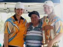 2015 Runners Up - Cairns. Jordan McAvoy (C) & Rebekah Maloney (VC)