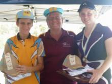 Umpires Under 18 Sportsmanship Award - Stirling McAvoy & Vanessa Lane